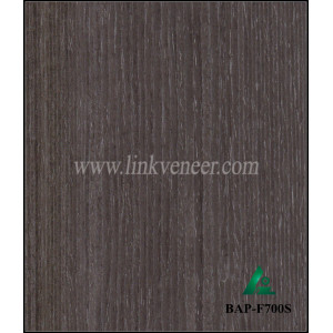 BAP-F700S Recon washed apricot veneer engineered wood veneer