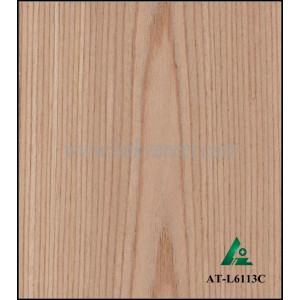 AT-L6113C Reconstituted Wood Veneer,Engineered Wood Veneer of ASH (quarter cut)