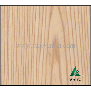 WA-FC 0.4MM white ASH quarter cut veneer/engineered oak wood veneer face veneer sheet