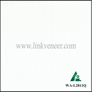 WA-L2811Q White wood,engineered white wood veneer,chinese white wood veneer