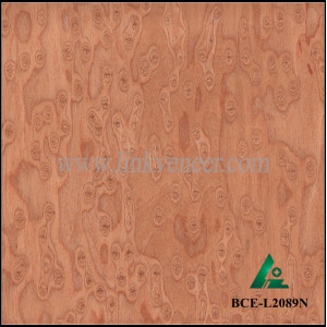 BCE-L2089N,Engineered of Colorful burl,cat eye veneer