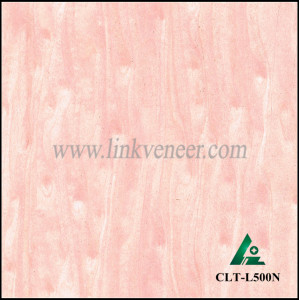 CLT-L500N,pink Veneer , Engineered Veneer for plywood & MDF