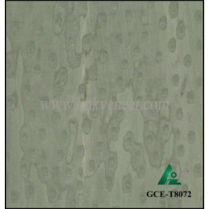 GCE-T8072,green cat eye wood veneer,recon wood veneer