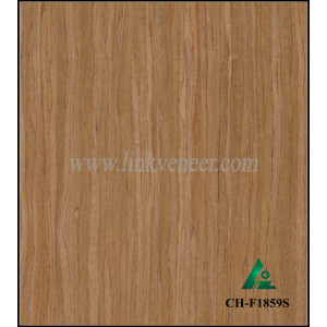 CH-F1859S, factory supplier high quality cherry Recon Veneer 0.45mm