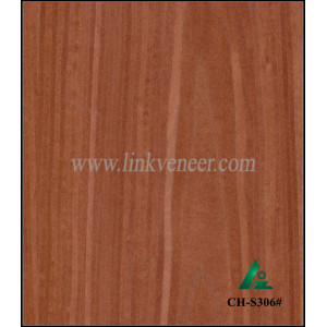 CH-S306#, RED CHERRY WOOD VENEER