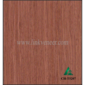 CH-T5207, engineered cherry face veneer for make the cabinet face