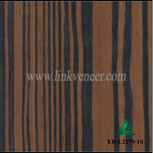 EB-L2279-1S, RECON EBONY VENEER OF BLACK COLOR