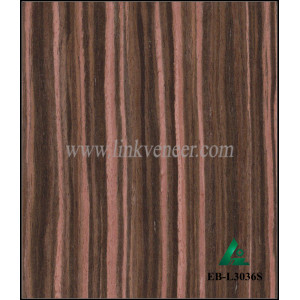 EB-L3036S, a/b grade ebony wood veneer prices for furniture