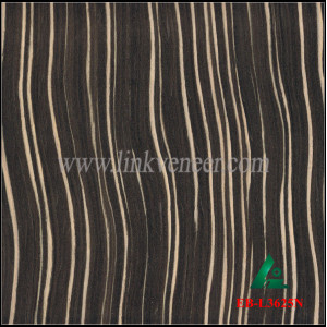 EB-L3625N, Recon ebony face veneer for plywood face