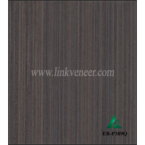 EB-P389Q, Hot sale in India market 0.3mm engineered wood veneer for plywood face with high quality