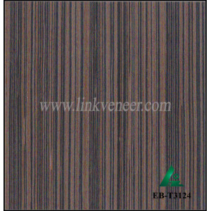 EB-T3124, Engineered wood veneer laminated on 2x8ft MDF for India market