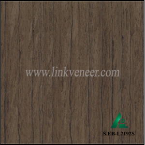 S.EB-L2192S, Ebony Artificial Wood Veneer Sheet