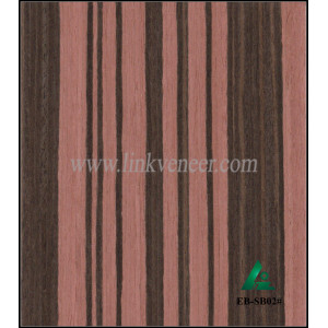 EB-SB02#, Reconstituted ebony wood veneer