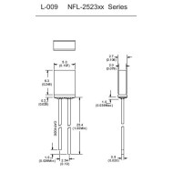 Standard Light Emitting Diode LEDNFL-2523xx