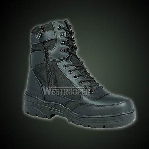 SWAT10 TACTICAL BOOTS BLACK