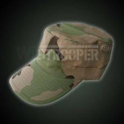 BDU CAP IN 3-COLOR DESERT
