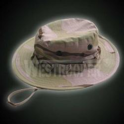 100% COTTON 3-COLOR DESERT BOONIE CAP