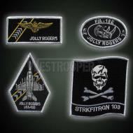 US JOLLY ROGER FLYING BADGES