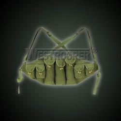 AK MAGZINE POUCH CHEST RIG