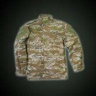 ACU JACKET WITH EPAULETTE TIGER CAMO