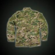 ACU JACKET WITH EPAULETTE MC CAMO