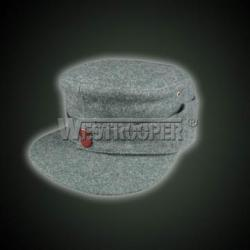 WH grey wool mountain cap