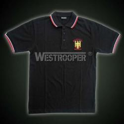 EAGLE POLO SHIRT IN BLACK