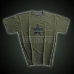 BLACK STAR SHIRTS IN OLIVE