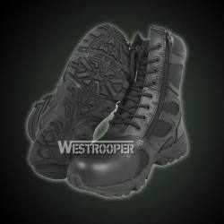 WESTROOPER RESPONSE TACTICAL BLACK MILITARY LEATHER BOOTS