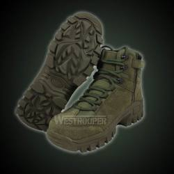 Tactical Boots 70-1634 Green Super Fiber Boots