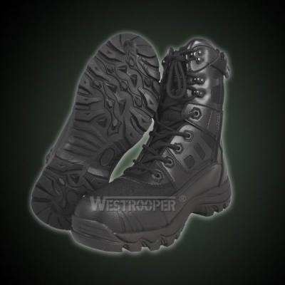 TACTICAL BLACK LEATHER BOOTS 70-1720