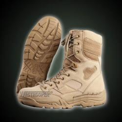 TACTICAL COW SUEDE LEATHER BOOTS 70-1737
