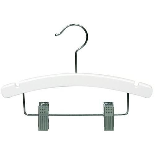 white acrylic clips hangers