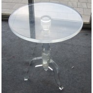table de chevet acrylique
