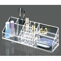 2012 fashionable acrylic cosmetic organizer display
