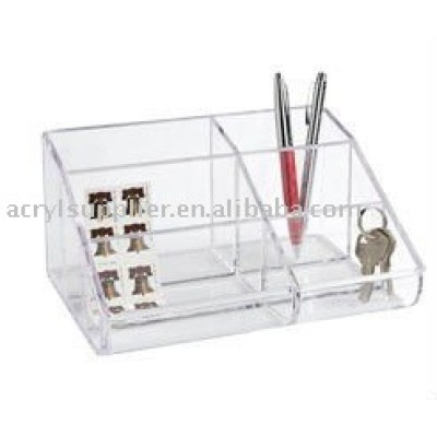 6-Section Acrylic cosmetic Organizer