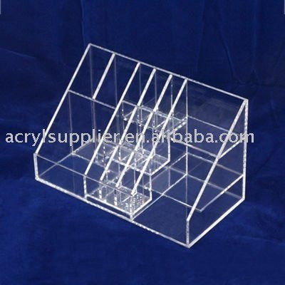 Acrylic cosmetic holder