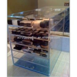 Acrylic drawer storage organizer