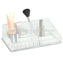 custom transparent Acrylic cosmetic display holder