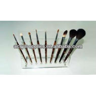 2013 acrylic makeup brushes display holder