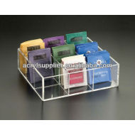 acrylic tea box organizer