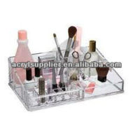 acrylic drawers makeup organizer with dividers