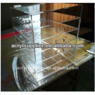 acrylic makeup counter organizer