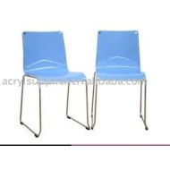 Modern Blue Acrylic Dining Chair New Chairs