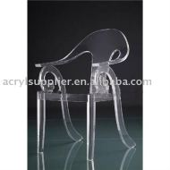 transparent Acrylic Dining Chair