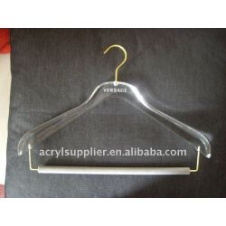 personalized acrylic hangers for clothes