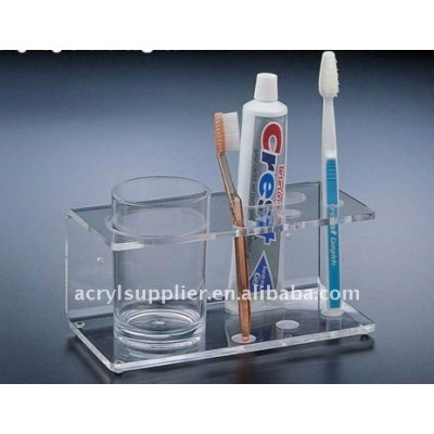 Acrylic display stand toothbrush