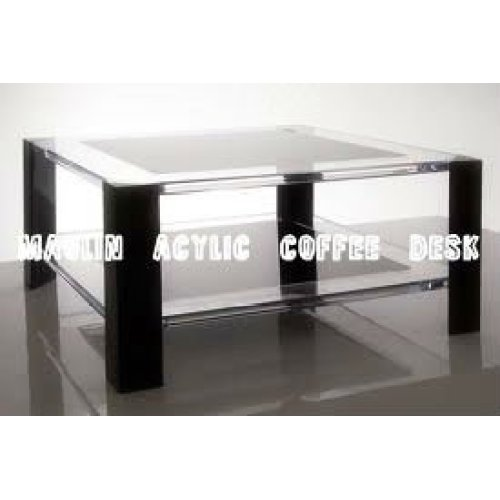 acrylic coffee desk