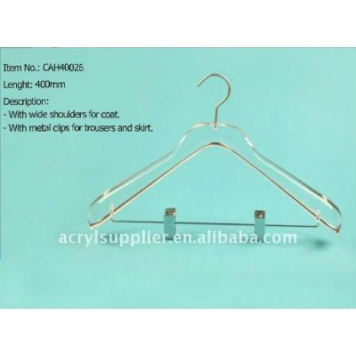 Acrylic bottom hangers