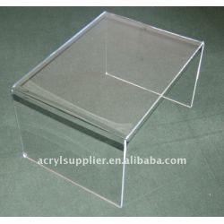 High hardness transparent Clear Acrylic Top Table